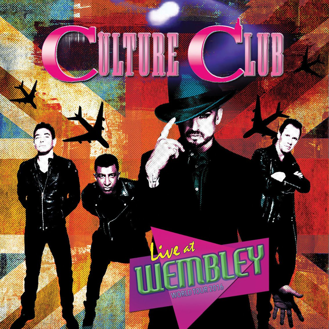 Culture Club sees 2016'Live At Wembley' show with original line-up released on various formats