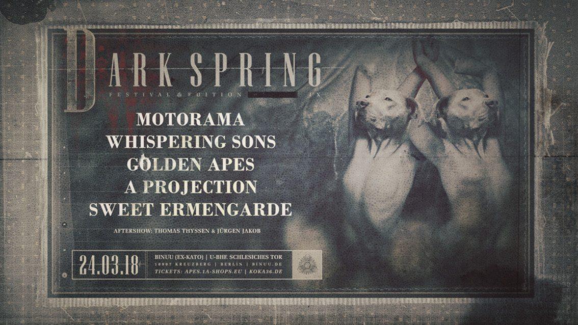 Berlin to host 9th Dark Spring Festival on 24th March 2018 at the Bi Nuu Club