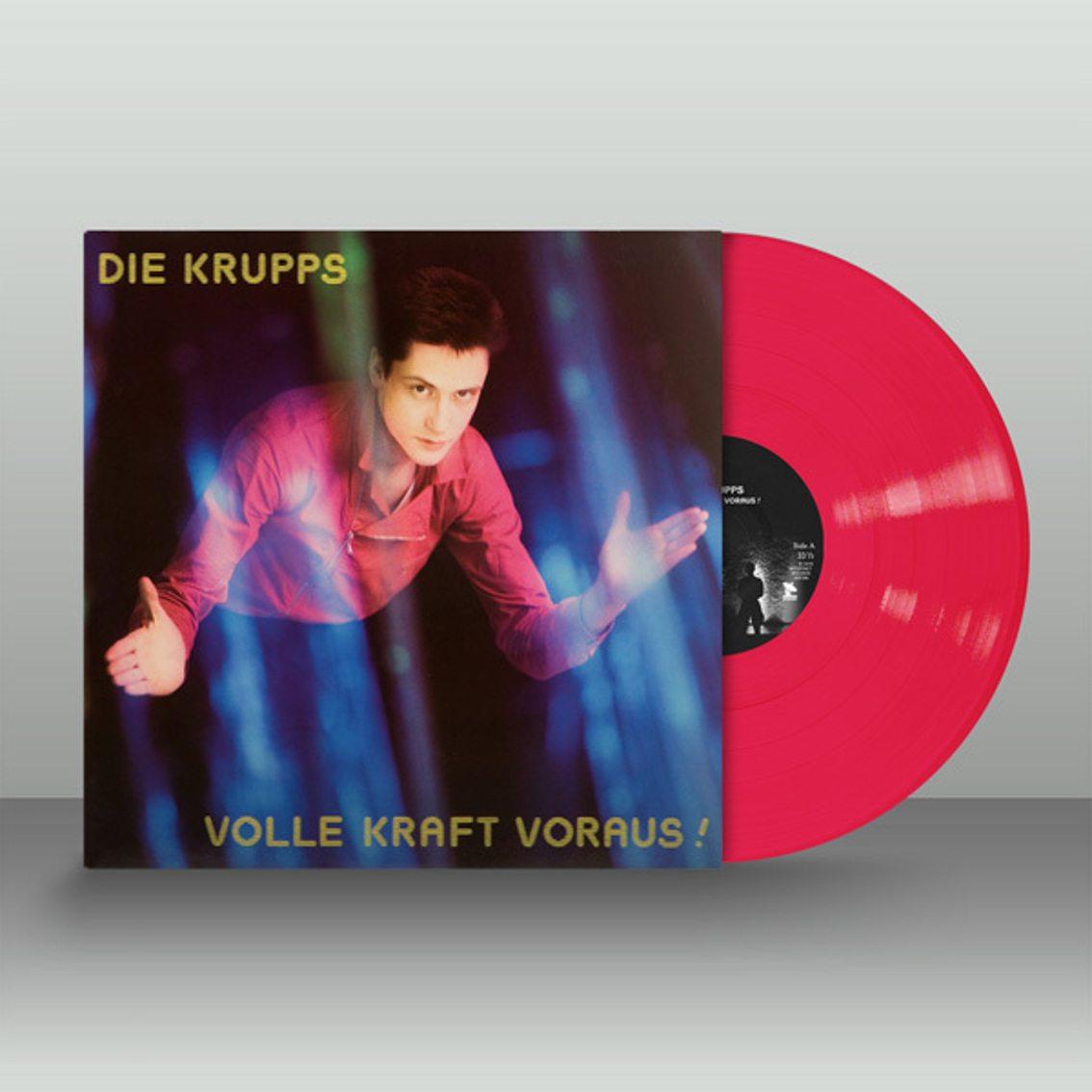 Die Krupps'Volle Kraft Voraus' gets vinyl treatment including... pink!