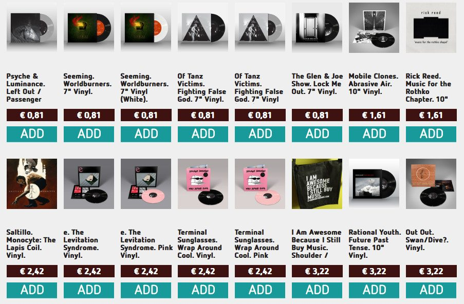 242 vinyl Week at Storming The Base at ridiculously low prices - your link