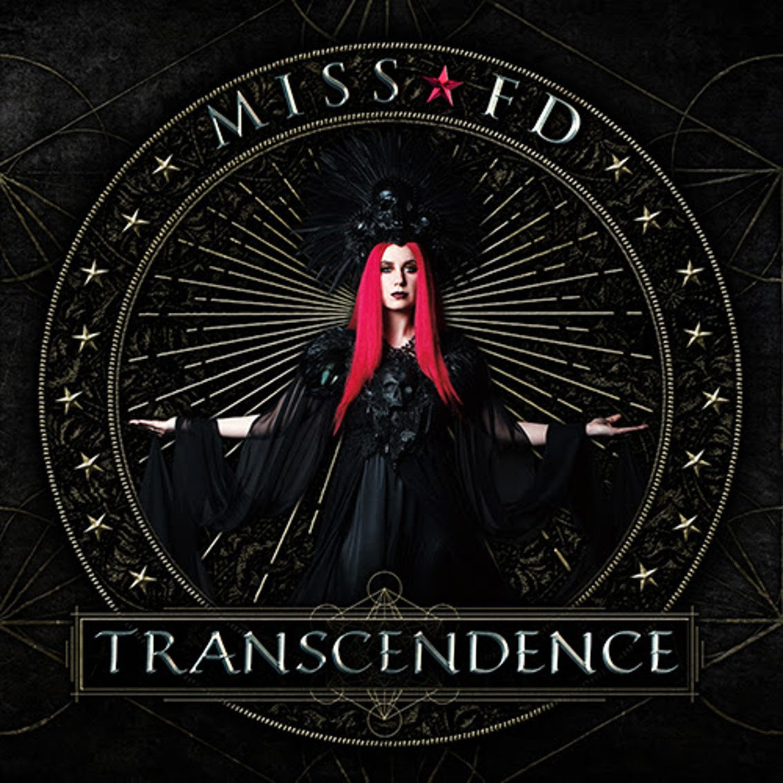 Miss FD reveals album cover (and teaser) for upcoming studio album'Transcendence'
