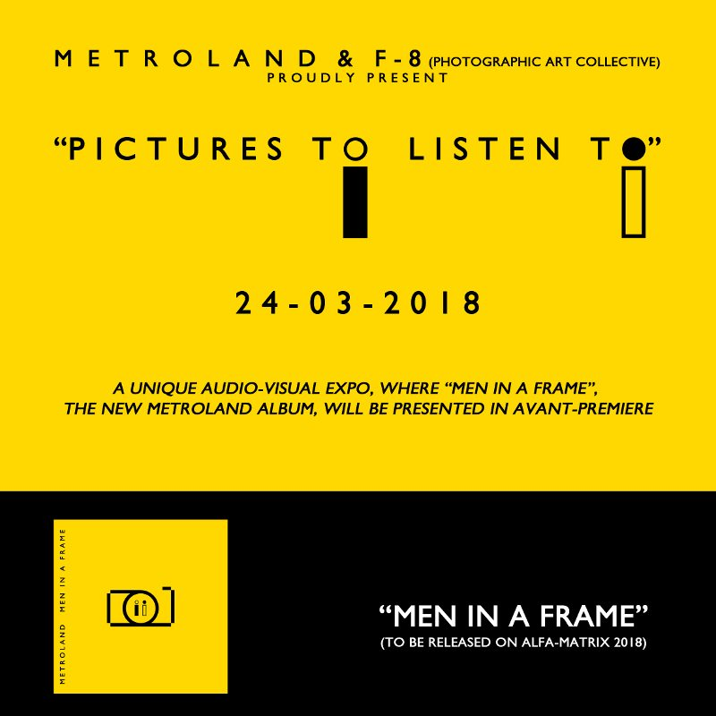 Metroland to release new'Men In A Frame' album in April, Bandcamp users get an a bonus track - listen to it here