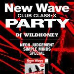 Give-away time: free tickets for the annual massive New Wave Club Class-X Party in Aarschot (BE)