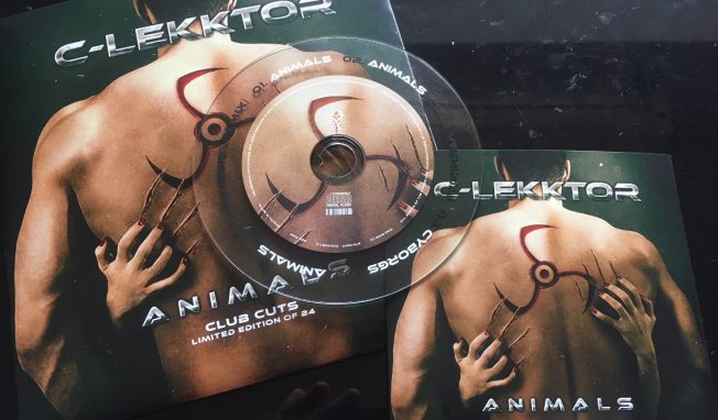 C-Lekktor sees 'Animals' single released on vinyl (sold out!) and CD (+ download)