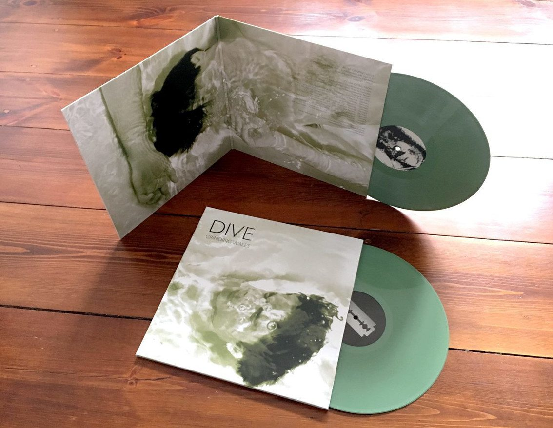 Dive sees 2 vinyls released: reissue'Grinding Walls' (2LP) and'Let Me In' (12inch)
