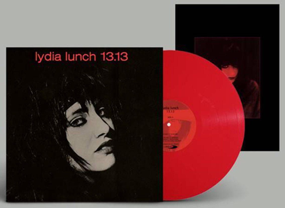 Reissue on red vinyl of Lydia Lunch classic 1982 album'13.13'