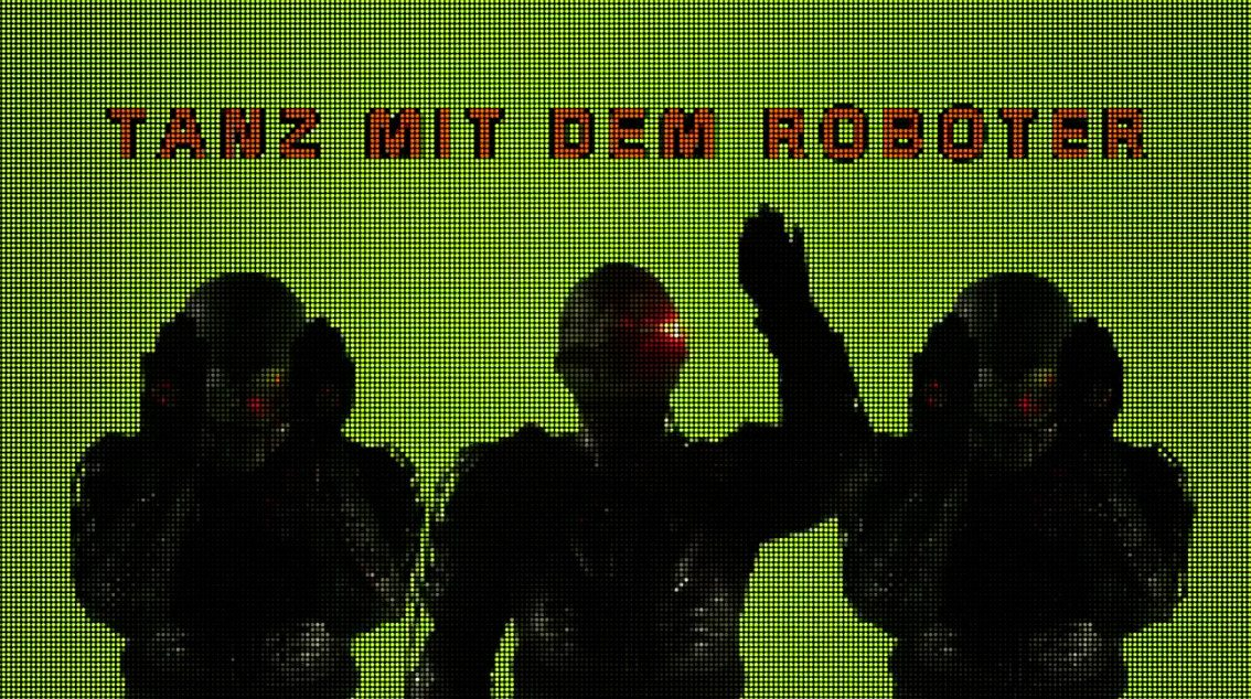 Die Robo Sapiens launch first official video, for 'Tanz Mit Dem Roboter'