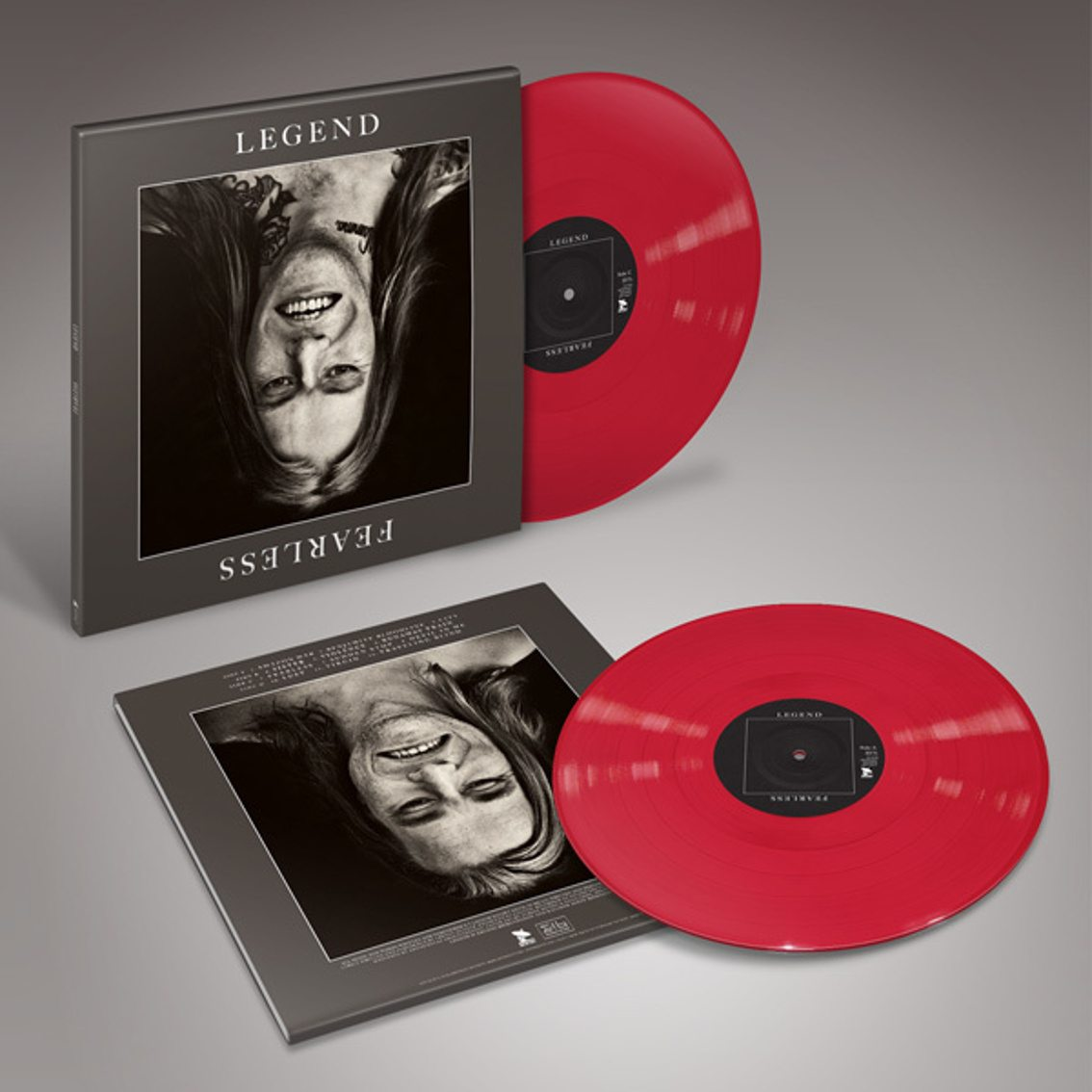 Legend issue remastered'Fearless' album on (red) vinyl