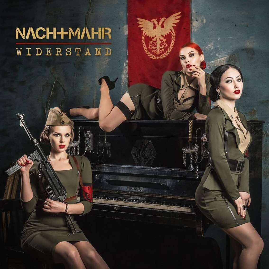 Nachtmahr joins the resistance with their newest EP 'Widerstand'