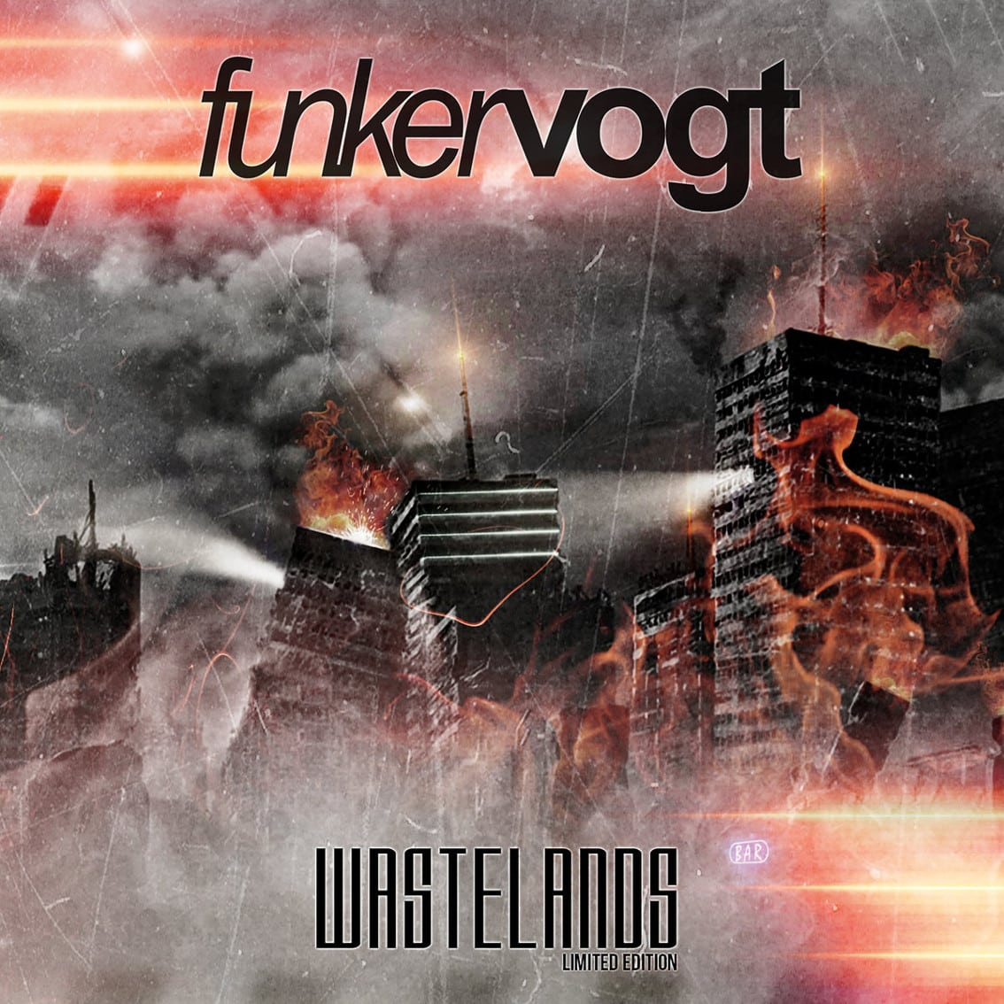 Funker Vogt also offers limited edition new'Wastelands' album with bonus tracks, new EP'Feel The Pain' out now