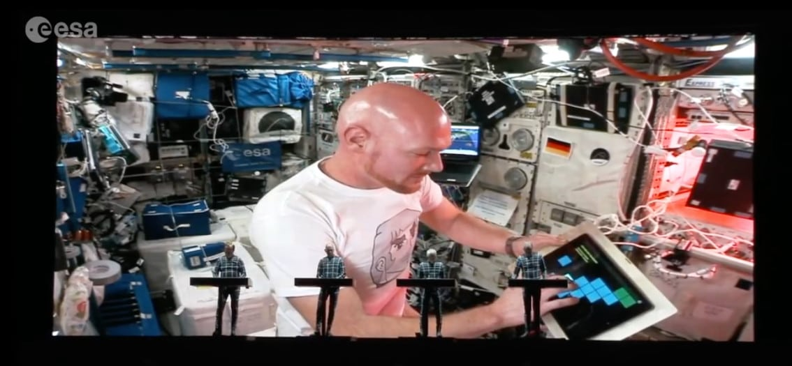Kraftwerk plays live with ESA astronaut Alexander Gerst - watch the video