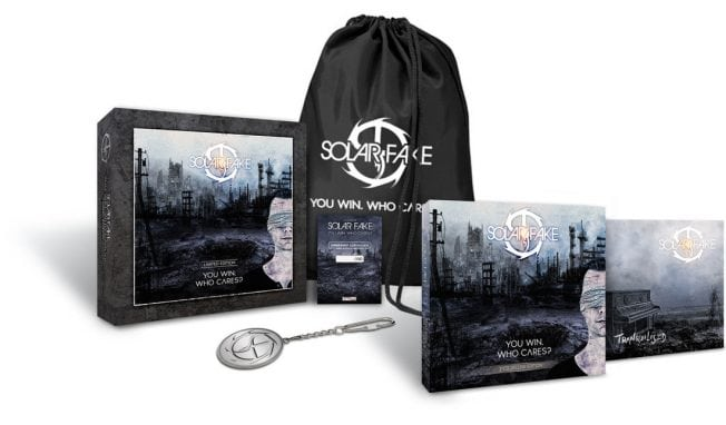 Sola Fake launches 'You Win. Who cares?' boxset next to double vinyl and 2CD set