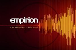 Empirion returns with double sided EP on vinyl (and CD): 'I Am Electronic/ Red Noise' - check out the first track