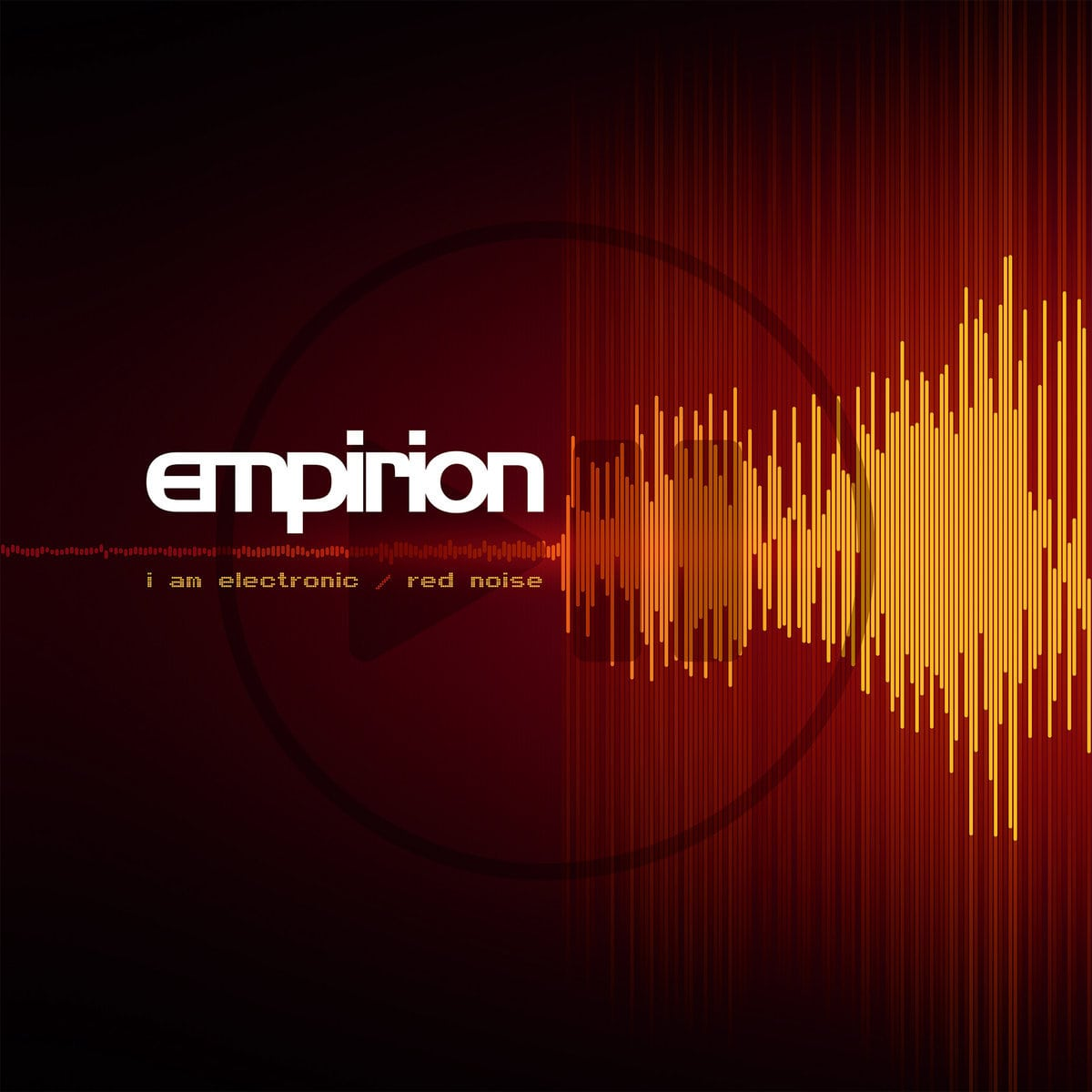 Empirion returns with double sided EP on vinyl (and CD):'I Am Electronic/ Red Noise' - check out the first track
