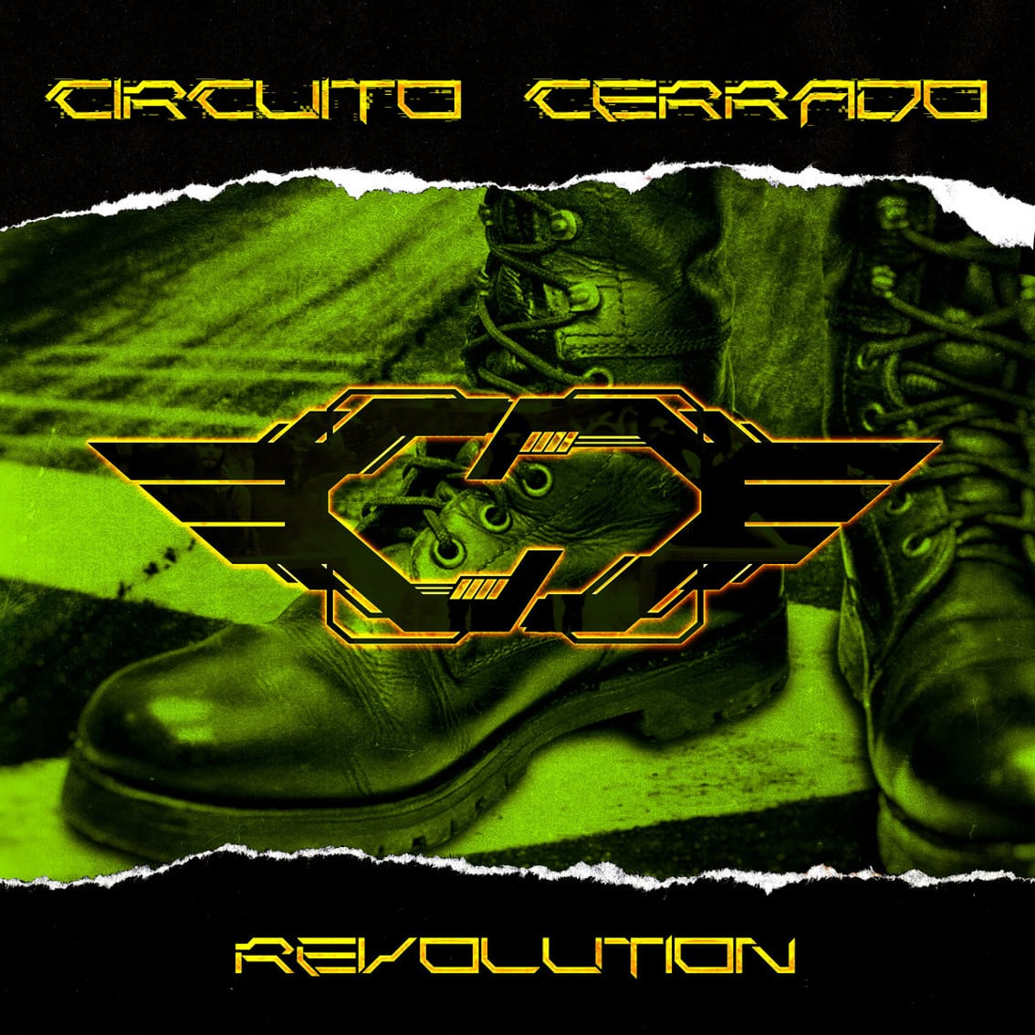 Mexico's harsh electro act Circuito Cerrado hits back with 4-track download EP'Revolution'