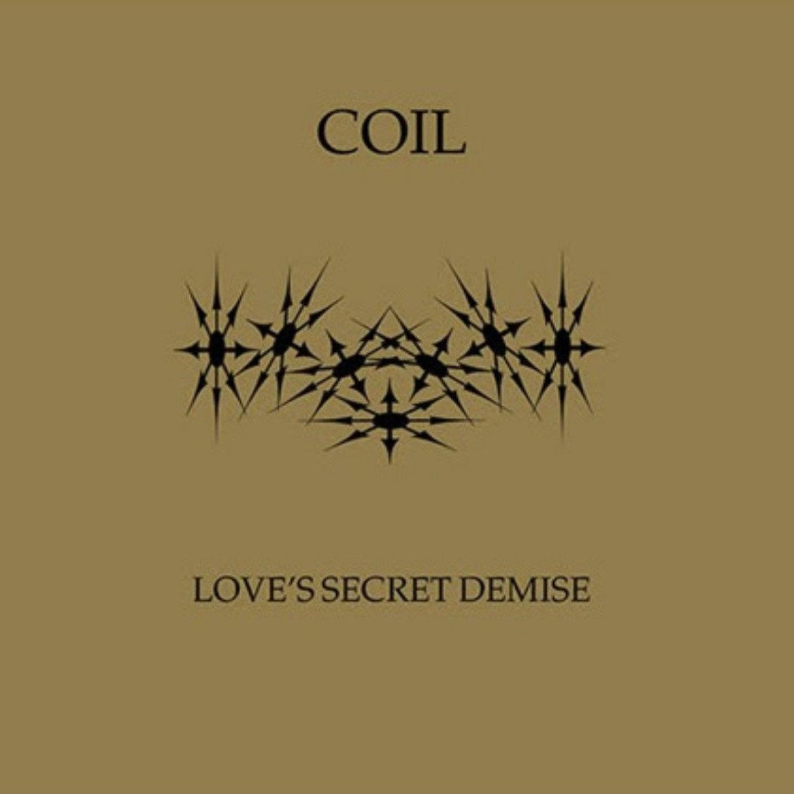 Coil's'Love's Secret Demise' hits the CD format - order info incuded