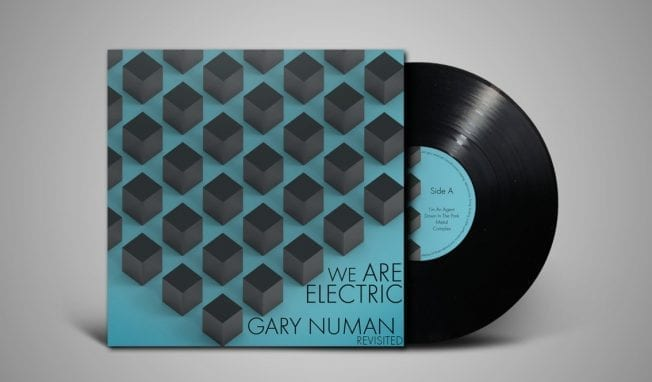 Gary Numan revisited by various dark wave bands for a vinyl release - check the first video
