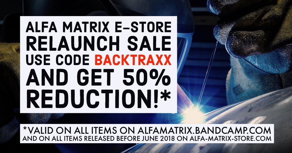 Alfa Matrix relaunches e-store with massive 50% discount on complete catalogue (or almost)
