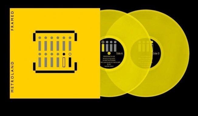 Metroland release double yellow vinyl (+CD): 'Framed' - available now via Alfa Matrix