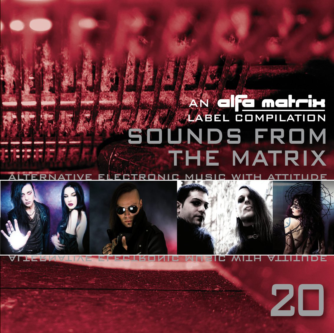 Alfa Matrix releases'Sounds From The Matrix 20' on Bandcamp as well