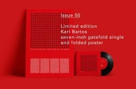2-track Karl Bartos vinyl single with 50th issue Electronic Sound