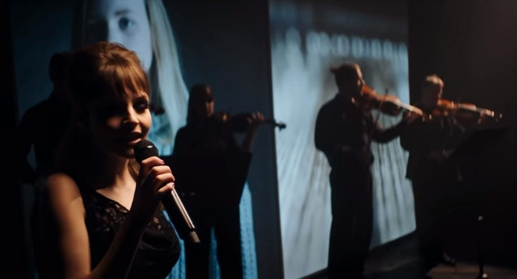 Chvrches  perform live with orchestra to kick off BBC Scotland - watch the  video f3ab05733