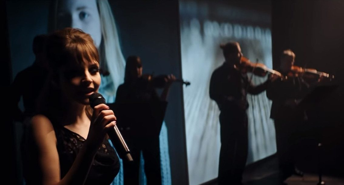 Chvrches' perform live with orchestra to kick off BBC Scotland - watch the video