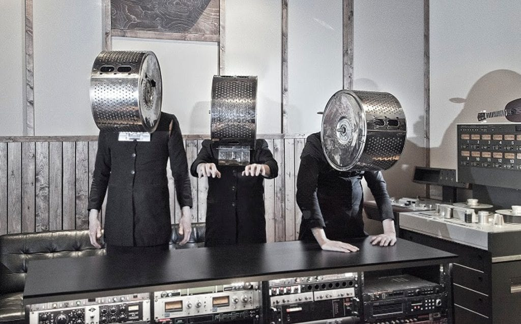 This is a must-see! Cleaning Women share new video for single'Leap Of Faith', all played on instruments... made out of cleaning appliances. Produced by Einstuerzende Neubauten's Alexander Hacke
