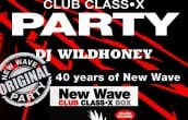 Side-Line give-away: 5 free (single) tickets to win for New Wave Club Class-X Party 9/03