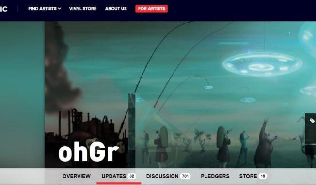ohGr still waiting for almost $100,000 in funds from PledgeMusic