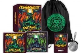 All new Combichrist album 'One Fire' comes in 3 formats: 3CD boxset, 2CD and a 2LP (incl. picture disc) vinyl - more details here