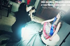 Backstage with the Miss Ballistic (Angelspit side project) photoshoot in Italy + kickstarter