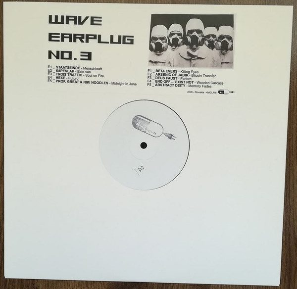 'Wave Earplug No.3' vinyl compilation out now