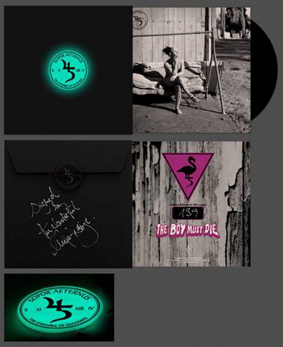 Sopor Aeternus to release limited 1-track 7 inch 'The Boy must die'
