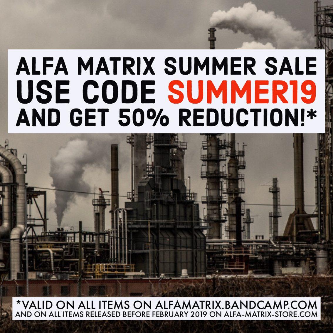 Alfa Matrix launches massive sale: 50% reduction on over 400 releases