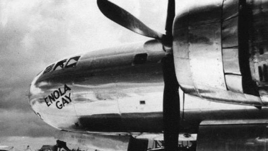 OMD's'Enola Gay' is today's worldwide soundtrack - (Hiroshima August 6, 1945)