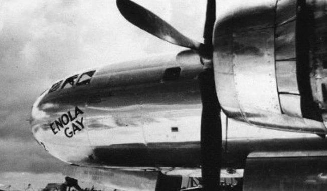 OMD's 'Enola Gay' is today's worldwide soundtrack - (Hiroshima August 6, 1945)