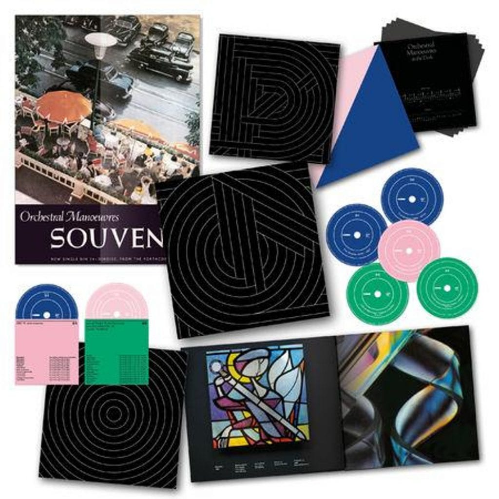 OMD launch 40th anniversary boxset'Souvenir - The Singles 1979-2019' + MEGAtour