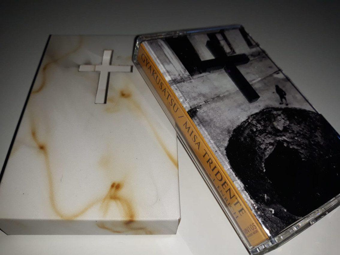 Gyakusatsu and Misa Tridente (plus I. Enrich) united on 'Split' cassette release