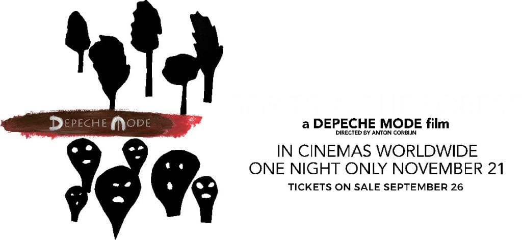 Depeche Mode documentary film'Spirits in the Forest' to be shown in theatres for one night only on November 21