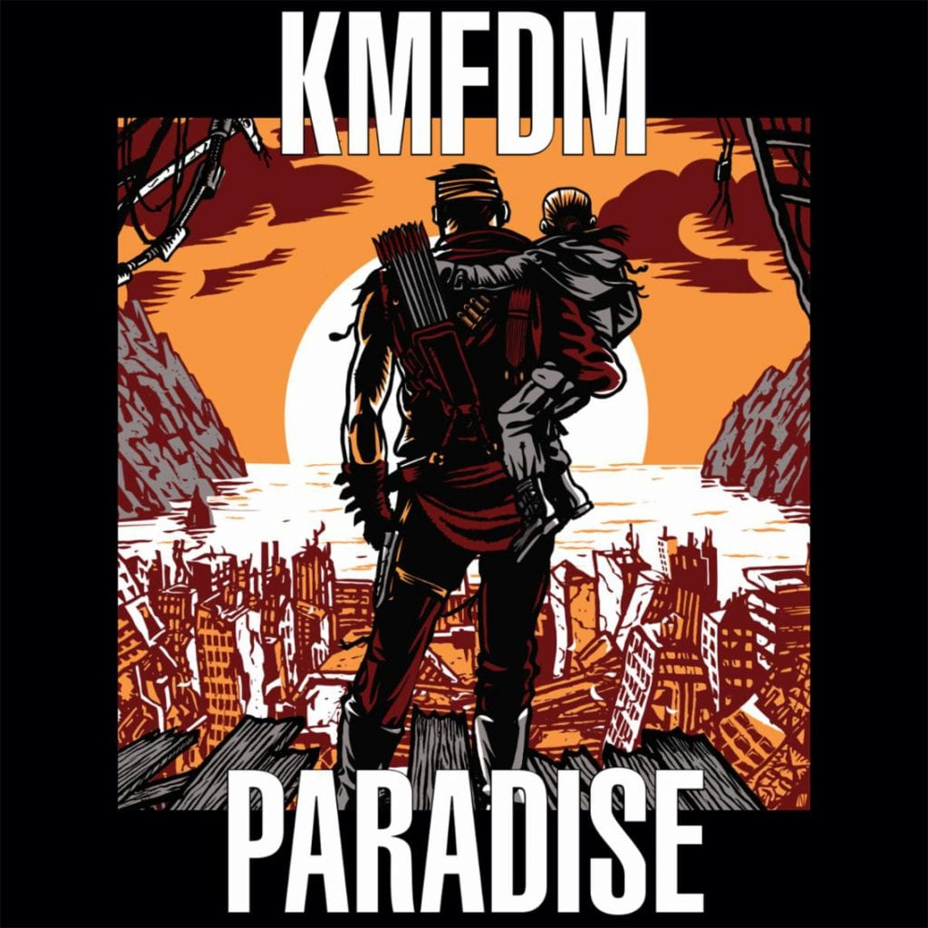 KMFDM to release'Paradise' feat. Raymond Watts (PIG) for the first time in 16 years