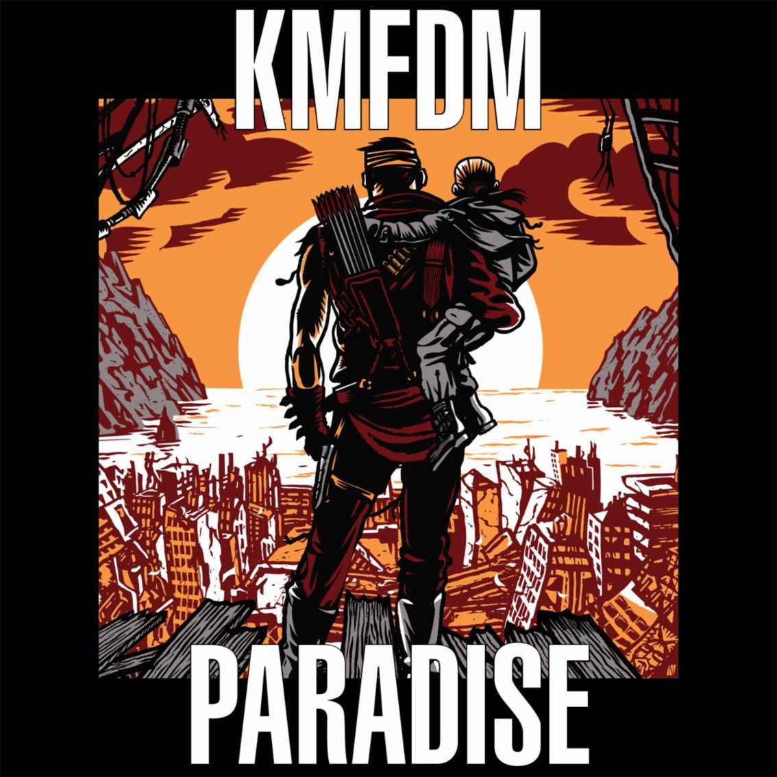 KMFDM to release 'Paradise' feat. Raymond Watts (PIG) for the first time in 16 years