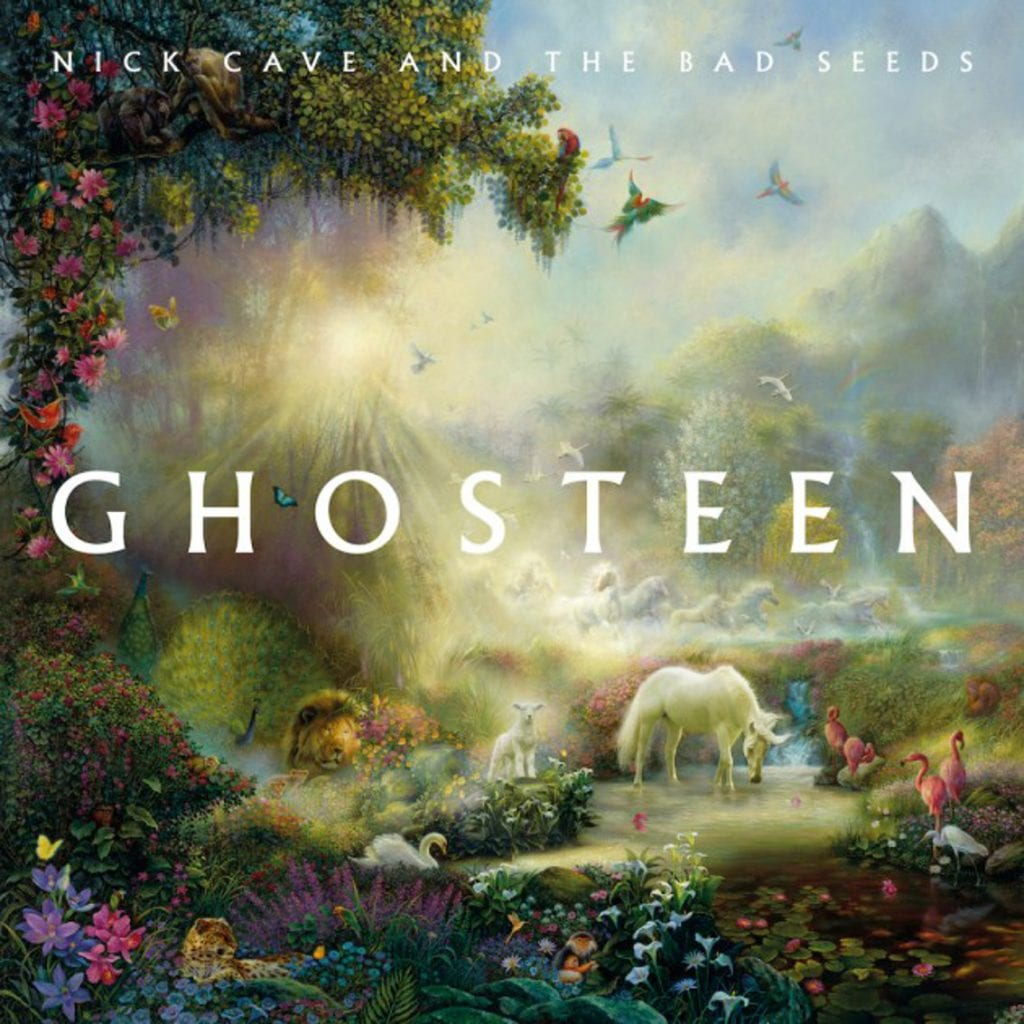 Brand new Nick Cave and The Bad Seeds to be released next week:'Ghosteen'