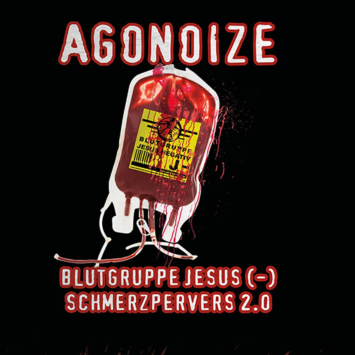 Agonoize returns with 'Blutgruppe Jesus (-) / Schmerzpervers 2.0' EP and video - watch it here