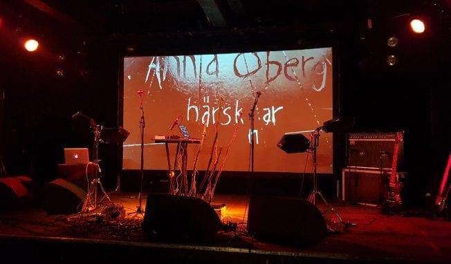 Synthwave artist Anna Öberg launches brand new video clip for 'Ich Bin'