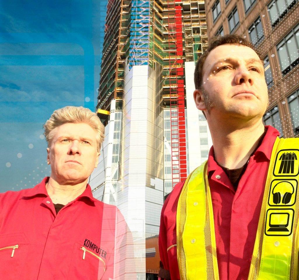 Electronica duo Komputer reboot for London show