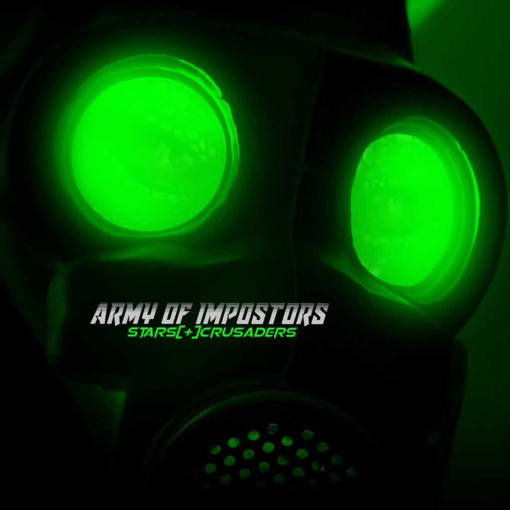 Brand new single by Stars Crusaders:'Army Of Impostors', mixed and mastered by Absurd Minds studio wizzard
