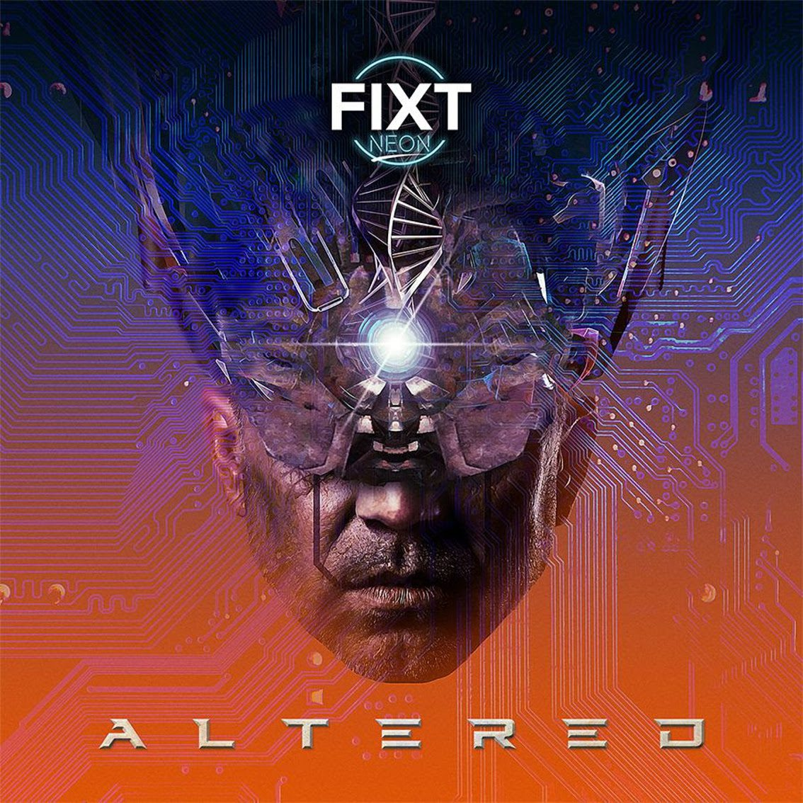 FiXT Neon releases 3rd single from Cyberpunk compilation 'Altered': 'Man Or Machine' (Feat. Megan McDuffee) by Extra Terra