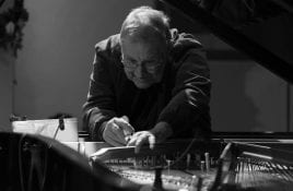 Irmin Schmidt announces live album release - recorded at his first UK solo piano concert, featuring two new pieces