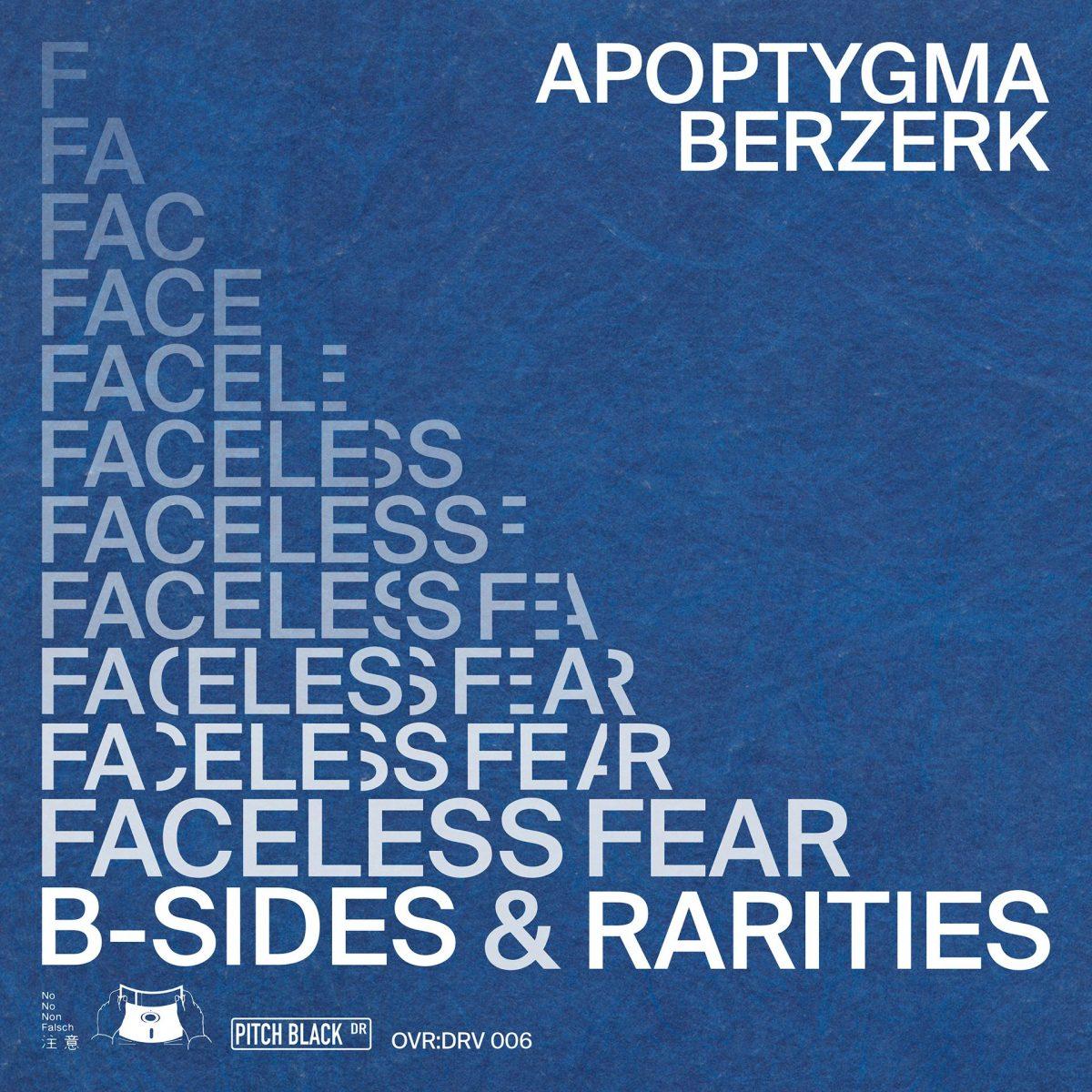 Apoptygma Berzerk - Faceless Fear (B-Sides & Rarities)